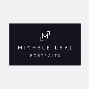 Identity for Michele Leal, an LA-based portrait artist | Concept & Design | Freelance client