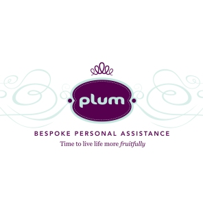 Identity for Plum Bespoke Personal Assistance, a lifestyle and concierge service | Concept, design & copy | Freelance client